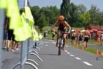 Triatlon v Mostě.