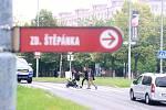 Přechod u Kahanu v Mostě. Tudy mají jezdit tramvaje. Radnice si na to nechá udělat technickou studii proveditelnosti.