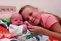 Jaroslav Pokorný, narodil se mamince Lucii Pokorné a tatínkovi Petrovi Pokornému 18. 8. 2020 v 11.56 hodin. Měřil 50 cm a vážil 3,25 kg. Doma se na něj těšila sestřička Anička.