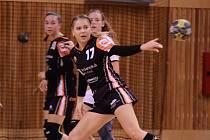 Mostecká Nikola Švihnosová nastřílela Ivančicím deset gólů.