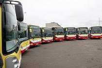 Mostecký dopravní podnik koupil nové autobusy.