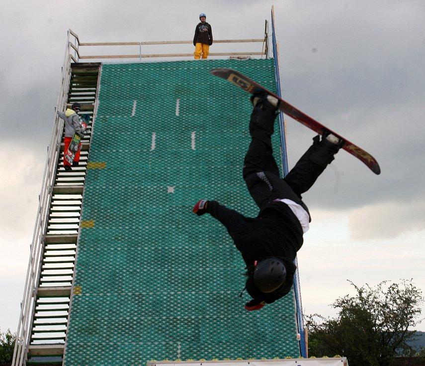 V Havrani na Mostecku zahájil v roce 2012 činnost jumpark i pro veřejnost, zaskákat si tam mohli všichni zájemci