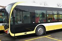 Nový autobus typu SOR NS 12