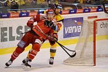 Litvínov hostil v dohrávce mužstvo Třince.