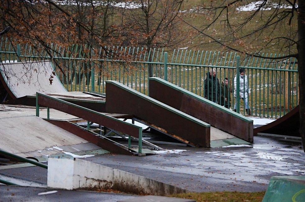 Skatepark na Šibeníku v Mostě