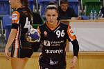 Mostecká házenkářka Veronika Mikulášková.