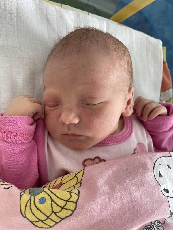 Lucie Gatášová se narodila mamince Natálii Davidové z Mostu 25. června ve 12.57 hodin. Měřila 49 cm a vážila 3,2 kilogramu.