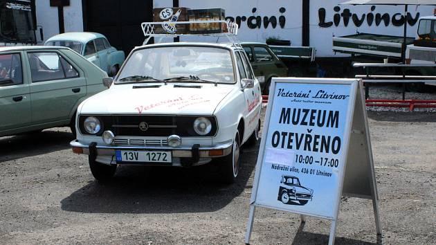 Otevřeno už má i Muzeum Veteráni Litvínov.