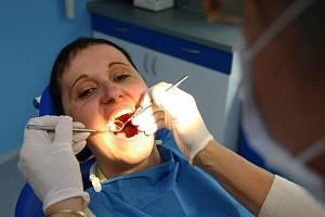 U zubaře.