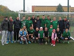 Gamblers Most vyhráli letošní ročník Mostecké ligy malého fotbalu.