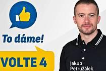 Hokejista Jakub Petružálek uspěl v komunálních volbách za SNK-ED. Nyní se vzdal mandátu zastupitele