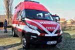 Obrničtí hasiči převzali nový speciál DA L1Z na podvozku Iveco New Daily 50C