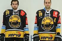 Zleva Martin Hanzl a Robin Hanzl.