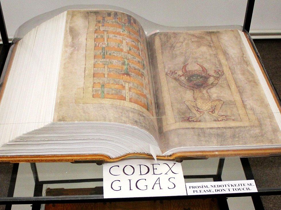 Codex Gigas, takzvaná Ďáblova bible
