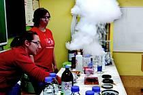 Zábavná hodina chemie.
