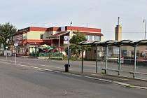 Současná podoba litvínovského autobusového nádraží