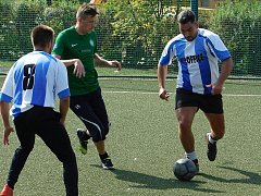 V Mostecké lize malé kopané se hrály další zápasy.