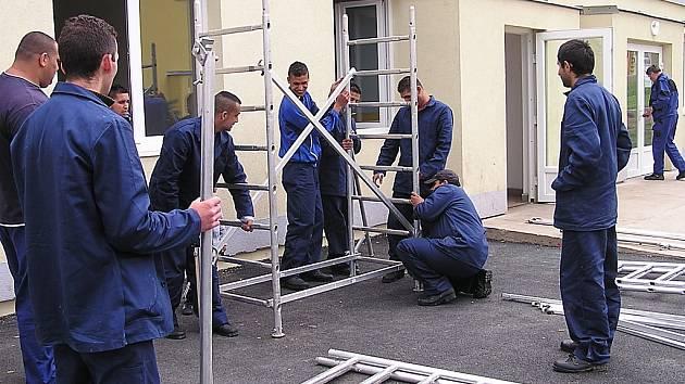 Rekvalifikace v oboru stavebnictví v Chánově.
