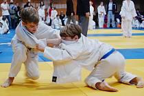 Mladí judisté při vánočním turnaji v Chomutově. Tam se jim dařilo, získali tam totiž 14 medailí.