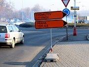 Od čtvrtka 1. března je v Mostě opět uzavřena silnice na výjezdu a vjezdu u muzea.