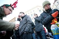 """Podobně jako budou """"zamrzat"""" lidé v Mostě, tak stejně se to stalo i před časem v Brně."""