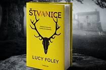 Kniha Štvanice od Lucy Foley.