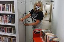 Práce v litvínovské knihovně pokračují.