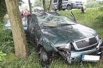 Nehoda způsobená alkoholem.