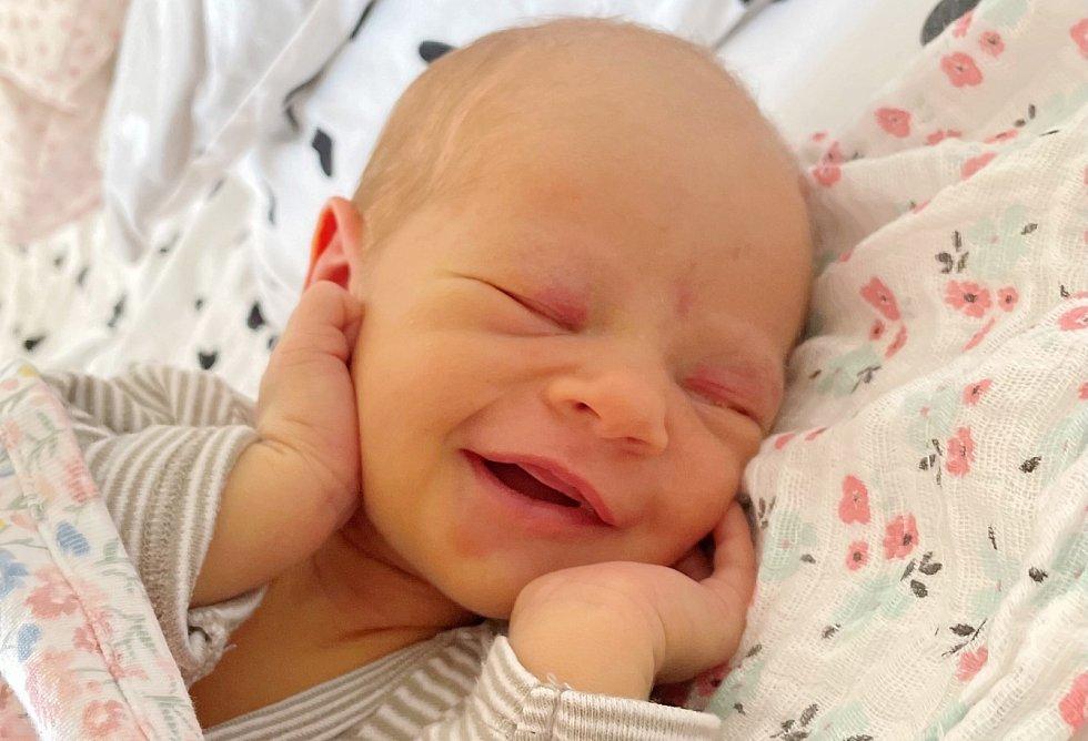 Amálka Šulavová se narodila se mamince Radce Haveldové a tátovi Markovi Šulavovi 22. března v 6.55 hodin. Měřila 50 cm a vážila 3 kg.