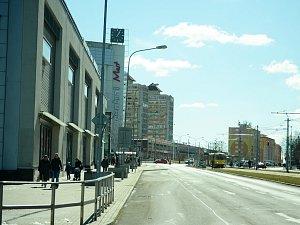 Město Most uvažuje u úpravě třídy Budovatelů v centru.
