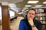 Libor Kudrna z občanské iniciativy Zachraňme mosteckou knihovnu.