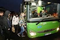 Zelené autobusy budou jezdit z Litvínova až do Německa. Ilustrační foto.