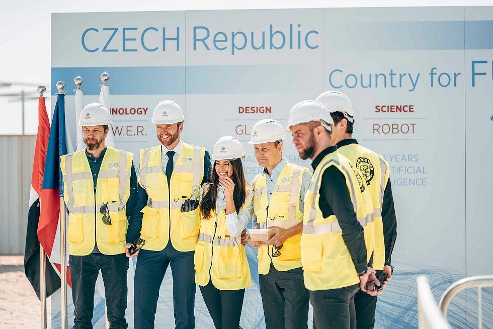 Český pavilon odprezentuje světu české vynálezy.