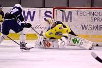 Derby na úvod první ligy ovládli hokejisté Ústí po samostatných nájezdech.
