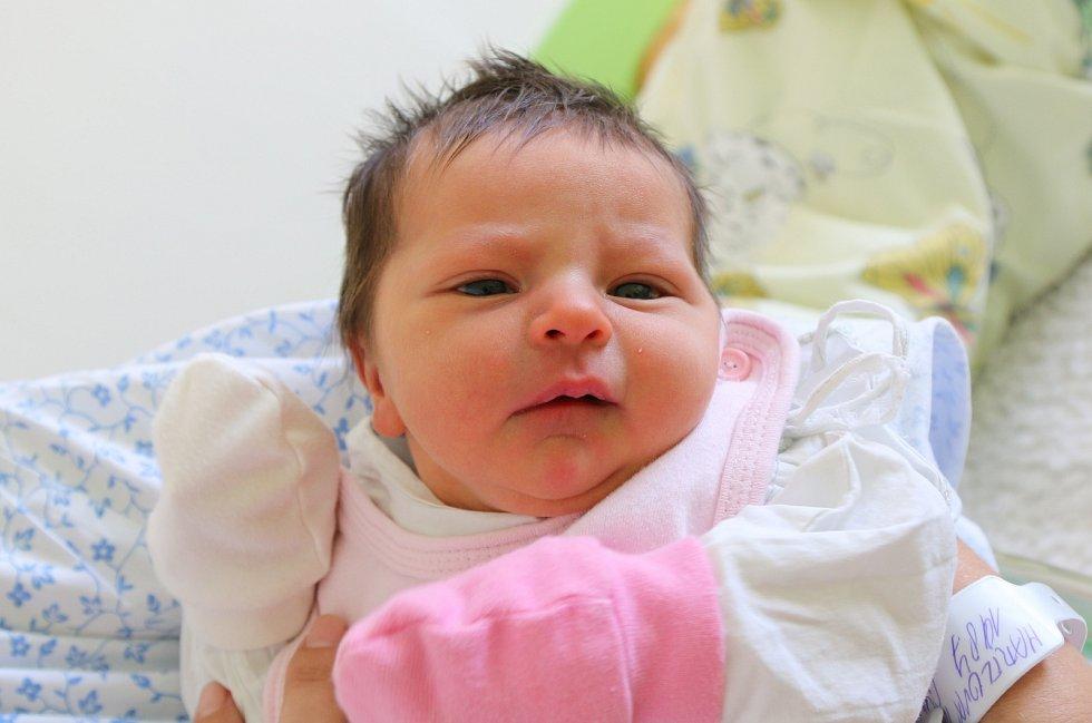 Jana Hartlová se narodila Kristýně Hartlové z Ústí nad Labem 6. září v 18.40 hodin. Měřila 48 cm, vážila 3,01 kg.