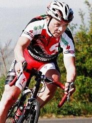 Cyklista Jaroslav Hrubý