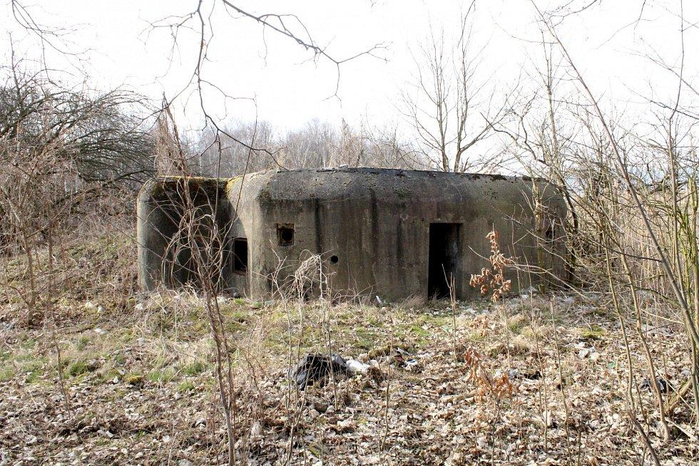 Celkový pohled na tentýž bunkr.