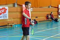 Badmintonista Jakub Klokan.