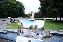 Na zahradní slavnosti v parku Střed v Mostě byla kromě zábavy debata s architekty a zástupci města o budoucnosti areálu, který se za rok začne rekonstruovat.