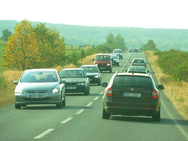 Doprava na Litvínovsku.