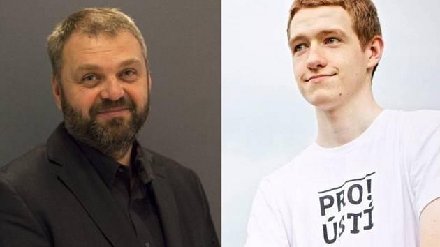 Daniel Pitek a Lukáš Blažej.