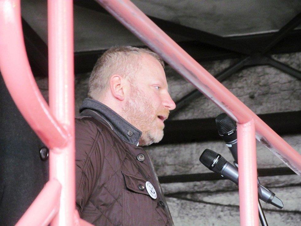 Jan Dienstl, spolumajitel Severní energetické, která důl Centrum provozuje.
