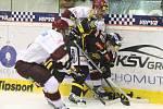 Hokejisté Litvínova hastili pražskou Spartu