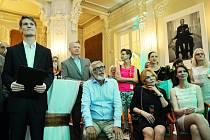 Společenské filmové setkání v hotelu Pupp, které u příležitosti MFF v Karlových Varech pořádala společnost Unipetrol.