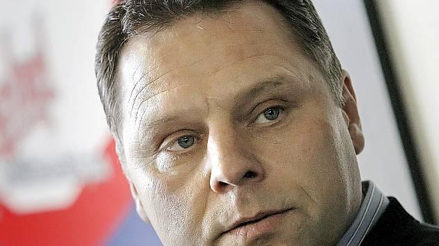 Trenér Jiří Doležal.