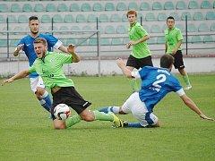 Most (v zeleném) doma s Vlašimí prohrál 0:1.