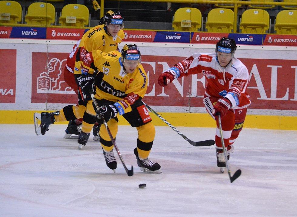 Litvínov v šestém extraligovém kole hostil doma Olomouc.