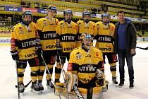 Litvínov v posledním zápase sezony přehrál Chomutov.
