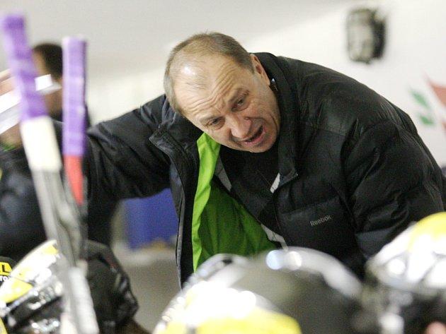 Litvínovský trenér Vladimír Jeřábek.