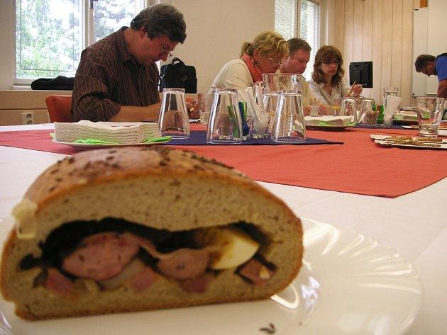 Ochutnávání na Regionální potravině.